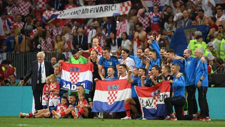 Croatia toppled England. GOAL