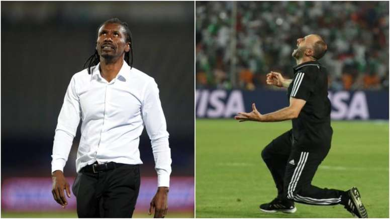 The two coaches grew up in the same neighbourhood. GOAL