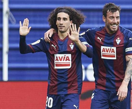 Getafe sign Cucurella on loan