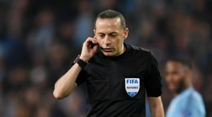 Cuneyt Cakir was the referee for the City v Spurs match. GOAL