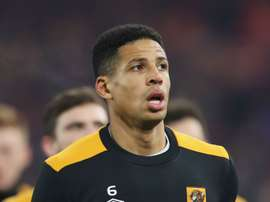 Hull City defender Curtis Davies. Goal