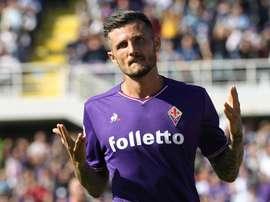 Thereau al Cagliari. Goal