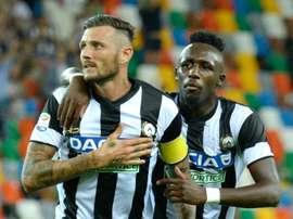 Cyril Thereau arrive en provenance de l'Udinese. Goal
