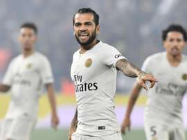 Alves has impressed at PSG since his move from Juventus. GOAL