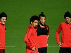 Alves is not yet fit. GOAL