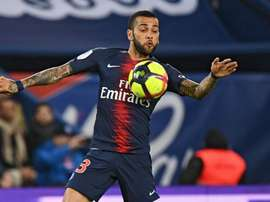 Dani Alves has suffered a knee injury. GOAL