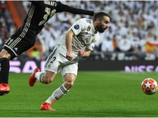 Carvajal frustrated after Madrid's Champions League exit. GOAL