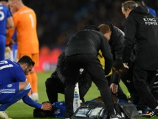 Amartey's injury looked sickening. GOAL