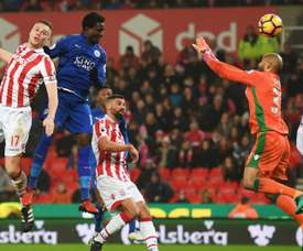 Daniel Amartey, du Leicester City. Goal