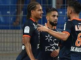 Daniel Congre Ryad Boudebouz Montpellier Rennes Ligue 1 27082016