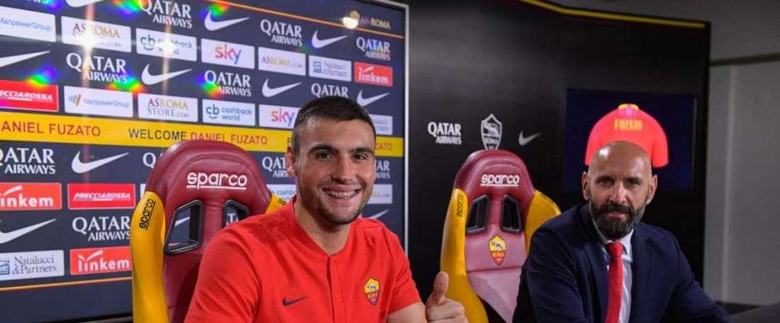 Fuzato é reforço da Roma. Goal