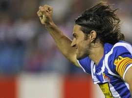 Esse é Daniel Jarque, homeageado por Iniesta no gol do título da Espanha em 2010. EFE