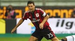 Daniele Bonera del Milan. Goal