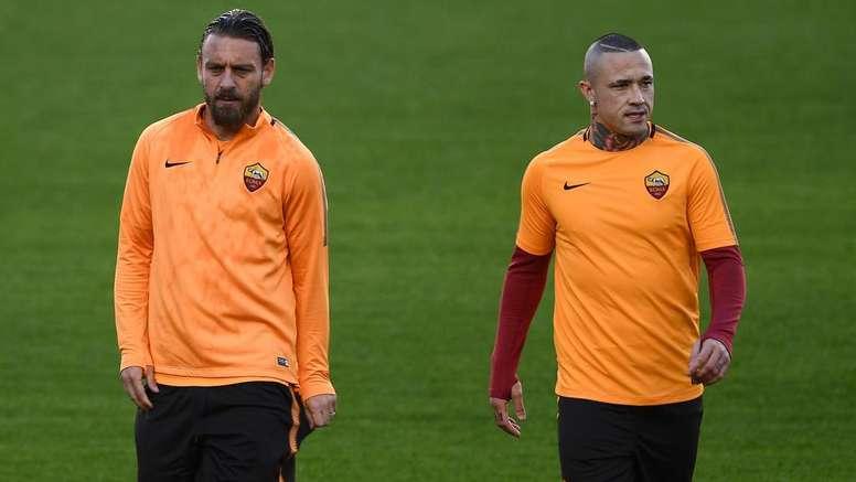 Nainggolan contro la Roma. Goal