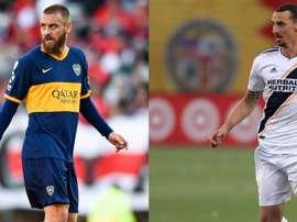 De Rossi e Ibrahimovic. Goal