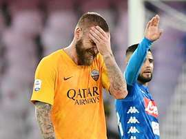 De Rossi has been ruled out through injury. GOAL