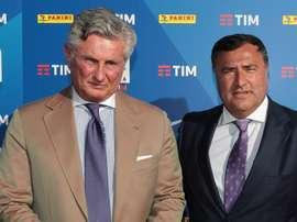Daniele Pradè Joe Barone Fiorentina Serie A