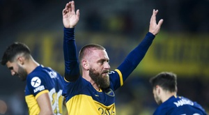 Boca apologise as De Rossi's goalscoring debut ends in shock loss