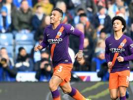 Danilo's strike clinched the landmark for City. GOAL
