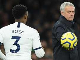 Danny Rose et les choix de José Mourinho. Goal