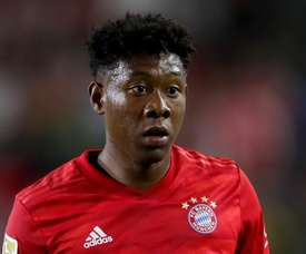 Alaba is happy to receive interest from Barca, but is focussing solely on Bayern. GOAL