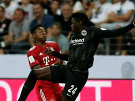 Alaba appears to have avoided a serious injury. GOAL