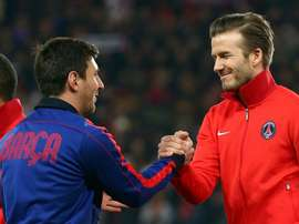 You never know - Beckham dreaming of Messi or Ronaldo at Inter Miami.