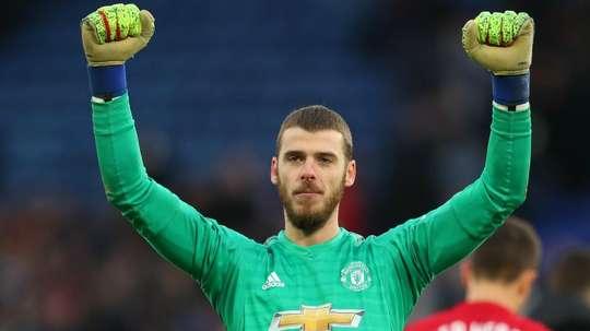 De Gea, futur capitaine de Manchester United ? AFP