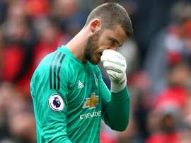 David de Gea was much poorer last season after the World Cup. GOAL