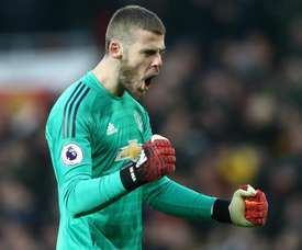 Spanish keeper De Gea has been in monstrous form this season. GOAL