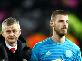 Players have faith in Ole - De Gea. GOAL