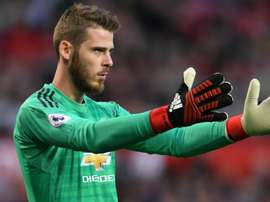 David de Gea pictured during United's defeat to Juventus in the Champions League. GOAL