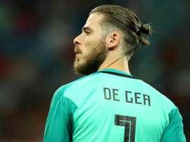 De Gea entra em campo mais uma vez sob a desconfiança de parte da torcida. Goal
