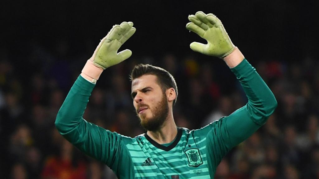 De Gea has critics in Spain. GOAL