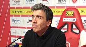 Reims en coupe d'Europe. goal
