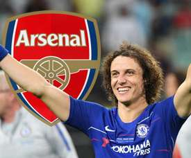 David Luiz, Arsenal logo