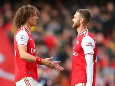 David Luiz has quickly settled into life at Arsenal. GOAL