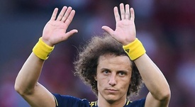 David Luiz has not quite settled into Arsenal yet. GOAL