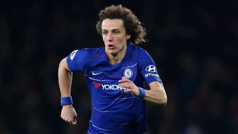 David Luiz has been at Chelsea for some time. GOAL
