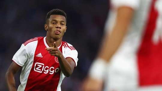 David Neres - Ajax. Goal