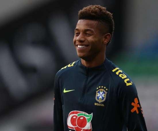 David Neres está ao serviço da seleção brasileira. Goal
