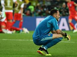 Ospina proud despite Colombia defeat