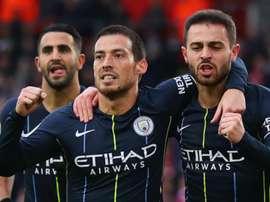 City repart de l'avant. Goal