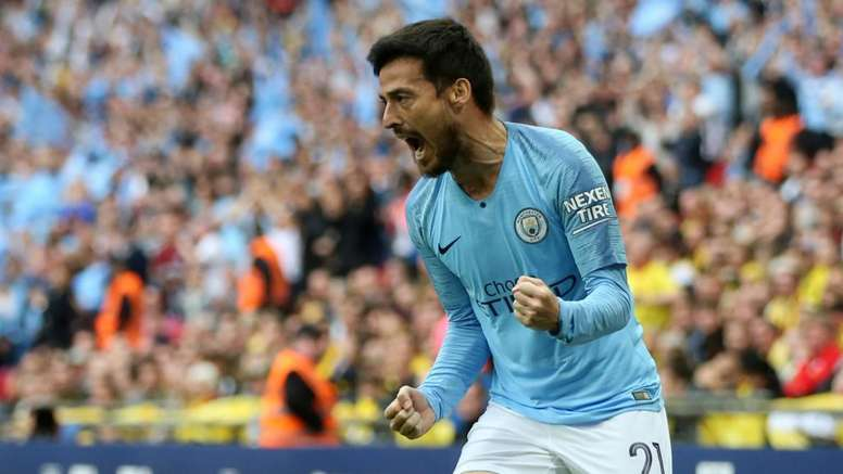 Silva opened the scoring for City on Saturday. GOAL