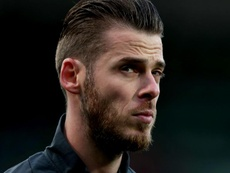 David De Gea picked up an injury v Sweden and had to leave the field. GOAL