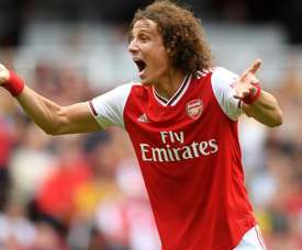 David Luiz calls for defensive improvement from Arsenal.