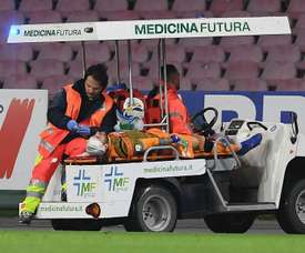 Ospina in hospital after collapse. Goal