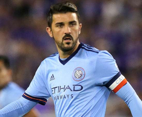 Villa helped New York City past Philadelphia Union in the MLS play-offs. GOAL