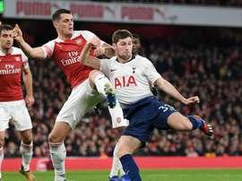 Davies puts north London rivalry aside to back Arsenal captain Xhaka