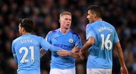 De Bruyne sees himself as a leader at Manchester City. GOAL